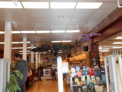 Seriously, this is what every book store should look like when you walk in!