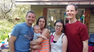 Silas-in-law, Azzie, Kady, me, Anthony Paul